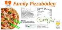 Glutenfreie Pizzaböden 2 Stück - glutenfrei
