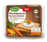 Bio Haferbrot Karotte & Kürbis - glutenfrei