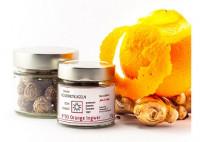 N°03 Orange Ingwer Gourmetkugeln aus Rohkakao - glutenfrei