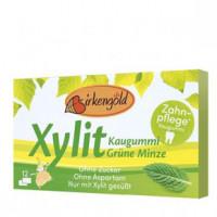 Xylit Kaugummi Grüne Minze - glutenfrei