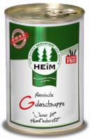 Klassische Gulaschsuppe - glutenfrei