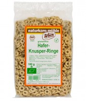 Hafer-Knusper-Ringe - glutenfrei