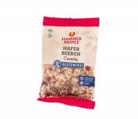 Bio Hafer Beeren Crunchy Portionsbeutel - glutenfrei