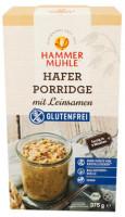 Bio Hafer Porridge mit Leinsamen - glutenfrei