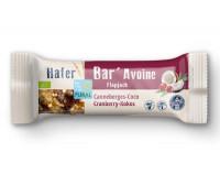 Hafer Bar Riegel Cranberry Kokos - glutenfrei