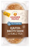 Hafer-Brötchen mit Vollkorn-Hafer - glutenfrei