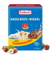 Haselnuss Riegel laktosefrei mit Traubenzucker - glutenfrei