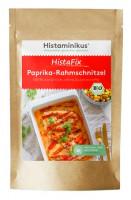 Bio HistaFix Paprika-Rahmschnitzel - glutenfrei