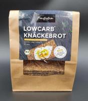 Bio Low-Carb Knäckebrot Sonnenblumenkerne - glutenfrei