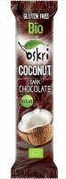 Bio Kokosriegel mit Zartbitterschokolade - glutenfrei