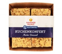 Kuchenkonfekt Mohn-Streusel - glutenfrei