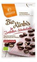 Bio Kürbis in Zartbitter-Schokolade - glutenfrei