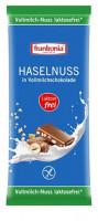 Haselnuss in Vollmilchschokolade laktosefrei - glutenfrei