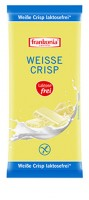 Weisse Crisp Schokolade laktosefrei - glutenfrei