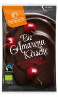 Bio Amarenakirschen in Zartbitterschokolade - glutenfrei