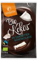 Bio Kokos in Zartbitterschokolade - glutenfrei
