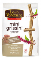Le Veneziane Mini Grissini mit Amaranth - glutenfrei