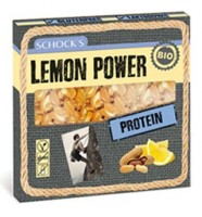 Bio Lemon Power Protein Riegel - glutenfrei
