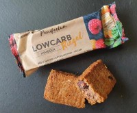 Low-Carb Himbeer Riegel - glutenfrei