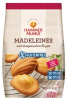 Madeleines nach französischem Rezept - glutenfrei