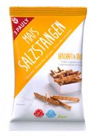 Mais Salzstangen - glutenfrei