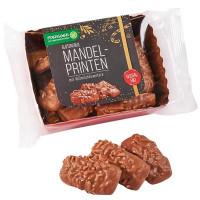 Glutenfreie Mandelprinten mit Vollmilchkuvertüre - glutenfrei