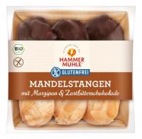 Bio Mandelstangen mit Marzipan & Zartbitterschokolade - glutenfrei