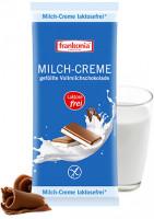 Milch-Creme gefüllte Vollmilchschokolade laktosefrei - glutenfrei