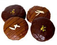 Mini-Elisenlebkuchen 4 Stück, frisch gebacken - glutenfrei