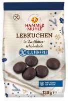 Lebkuchen in Zartbitterschokolade - glutenfrei