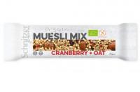Bio Müsli Mix Riegel Cranberry + Oat - glutenfrei