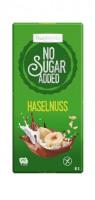 No Sugar Added Haselnuss Schokolade - glutenfrei
