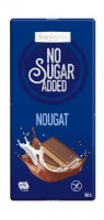 No Sugar Added Nougat Schokolade - glutenfrei