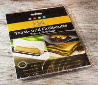Toastbeutel 2 Stück wiederverwendbar - glutenfrei