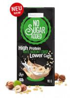 No Sugar Added High Protein Haselnuss Schokolade - glutenfrei