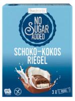 No Sugar Added Schoko-Kokosriegel - glutenfrei