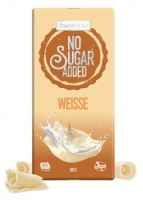 No Sugar Added Weisse Schokolade - glutenfrei