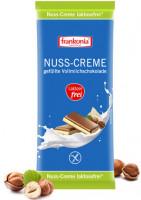 Nuss-Creme gefüllte Vollmilchschokolade laktosefrei - glutenfrei