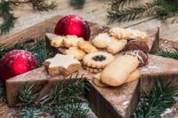 Weihnachts-Plätzchenmischung - glutenfrei