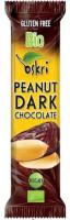 Bio Peanut Dark Chocolate Riegel - glutenfrei