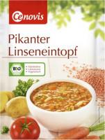 Pikanter Linseneintopf - glutenfrei