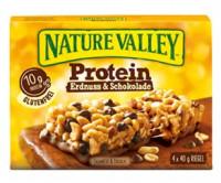Protein Erdnuss & Schokolade Riegel - glutenfrei