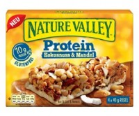 Protein Kokosnuss & Mandel Riegel - glutenfrei