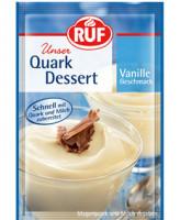 Quark Dessert Vanille Geschmack - glutenfrei