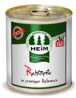 Rehtöpfle in cremiger Rehsauce - glutenfrei