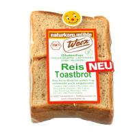 Reis Toastbrot - glutenfrei