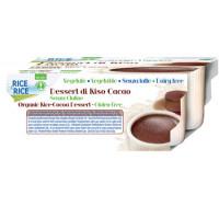 Reisdessert mit Cacao 4 Stück - glutenfrei