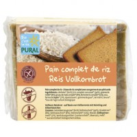 Glutenfreies Reis Vollkornbrot - glutenfrei