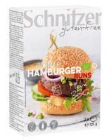 Bio Hamburger Buns 4 Stück - glutenfrei
