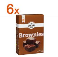 Sparpaket 6 x Brownies Backmischung - glutenfrei